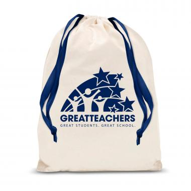 Great Teachers Large Drawstring Gift Bag