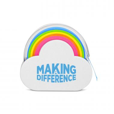 Making a Difference Rainbow Sticky Note Tape
