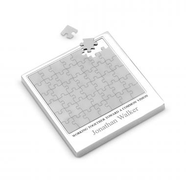 Personalized Magnetic Puzzle & Coaster