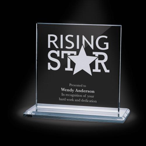 Sahara Starfire Crystal Award