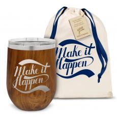 Barware - Make it Happen Stainless Steel Stemless Wine Glass