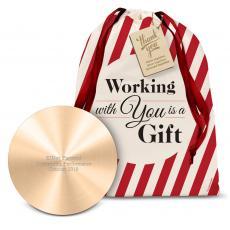 Power Banks - Gold Metal Power Bank Holiday Gift Set