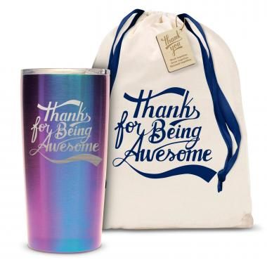 The Joe - Thanks for Being Awesome 20oz. Stainless Steel Tumbler