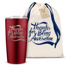 Yeti & Joe Tumblers - The Joe - Thanks for Being Awesome 20oz. Stainless Steel Tumbler