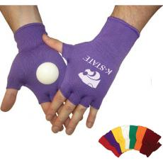 Fashion Accessories - Spirit Clakkers<sup>™</sup> - Knit fingerless gloves with hard plastic disk on the palm of each