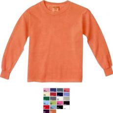 T-Shirts - Chouinard;Comfort Colors<sup>™</sup> - Youth long sleeve pocket tee, blank