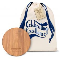 Technology Accessories - Wood Wireless Charging Pod Gift Set