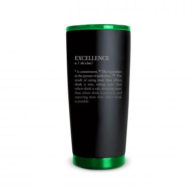 The Matte Joe - Excellence Definition 20oz. Stainless Steel Tumbler