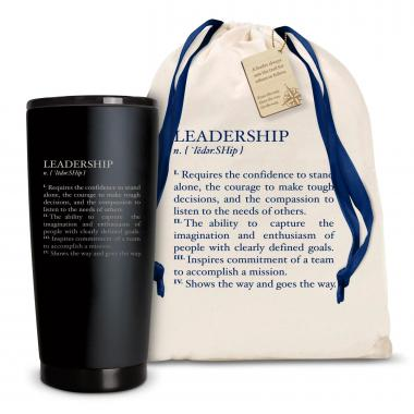 The Matte Joe - Leadership Definition 20oz. Stainless Steel Tumbler
