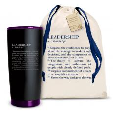 Joe Matte - The Matte Joe - Leadership Definition 20oz. Stainless Steel Tumbler