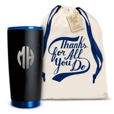 Joe Matte - The Matte Joe - Monogram 20oz. Stainless Steel Tumbler