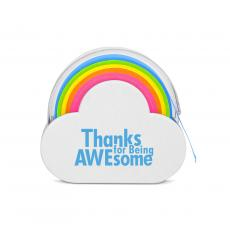 Thank You Gifts - Thanks for Being Awesome Rainbow Sticky Note Tape