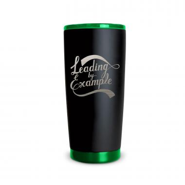 The Matte Joe - Leading by Example 20oz. Stainless Steel Tumbler