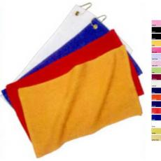 "Towels General - Q-Tees of California<sup>®</sup> - Black;Gold;Light Pink;Navy ;Orange;Red;Royal  -  Cotton terry rally towel, 11"" x 18"". Blank"