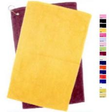 "Towels General - Q-Tees of California<sup>®</sup> - Azalea;Black;Forest;Gold;Hot Pink;Light Blue;Light Pink;Lime;Maroon;Navy ;Orange;Purple;Red;Royal ;Yellow;Yellow Haze -  Hemmed hand towel, 16"" x 25"". Blank"