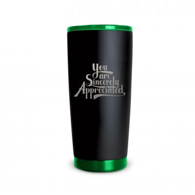 The Matte Joe - Sincerely Appreciated 20oz. Stainless Steel Tumbler