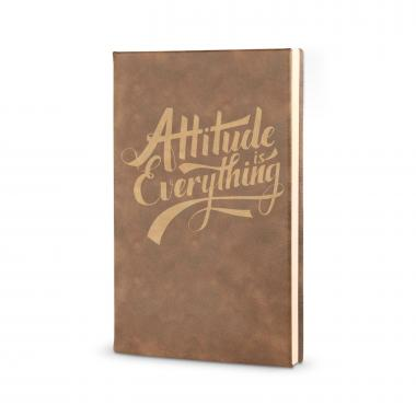Attitude is Everything - Vegan Leather Journal