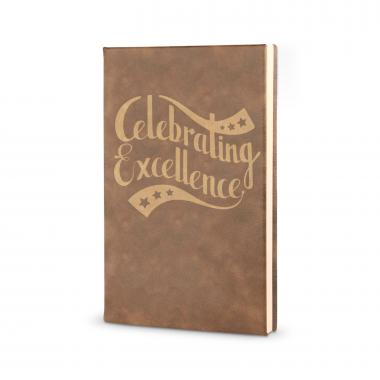 Celebrating Excellence - Vegan Leather Journal