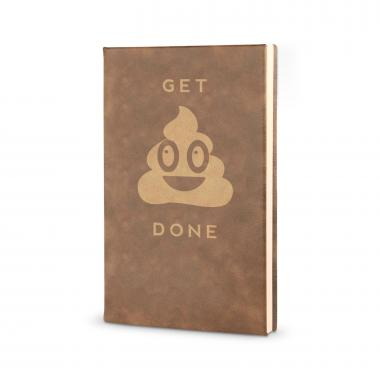 Get It Done - Vegan Leather Journal