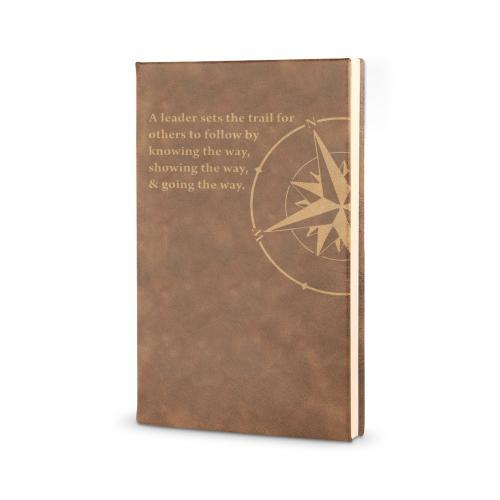 Leadership Compass - Vegan Leather Journal