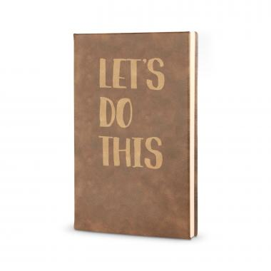 Let's Do This - Vegan Leather Journal