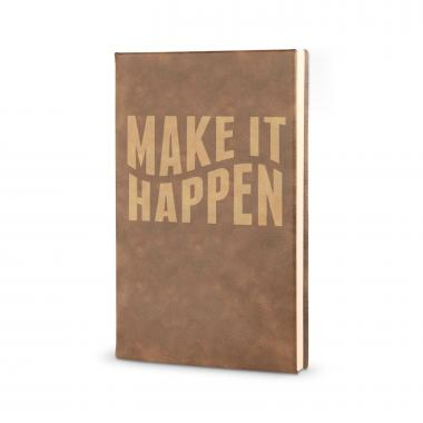 Make It Happen - Vegan Leather Journal