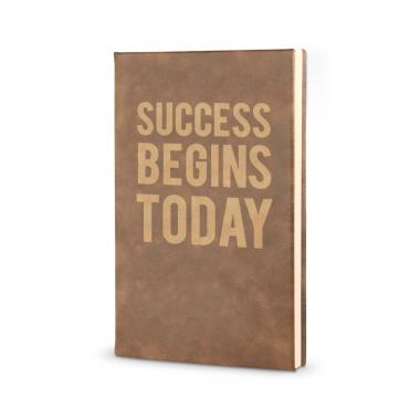 Success Begins Today - Vegan Leather Journal