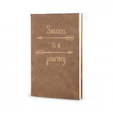 Success is a Journey - Vegan Leather Journal