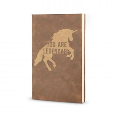 You're Legendary - Vegan Leather Journal