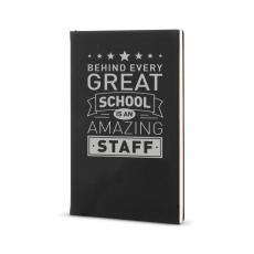 Journal Books - Behind Every Great School - Vegan Leather Journal