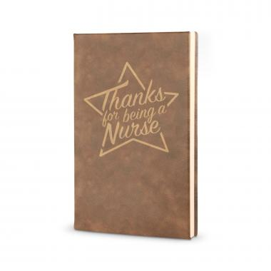 Thanks Nurse Star - Vegan Leather Journal