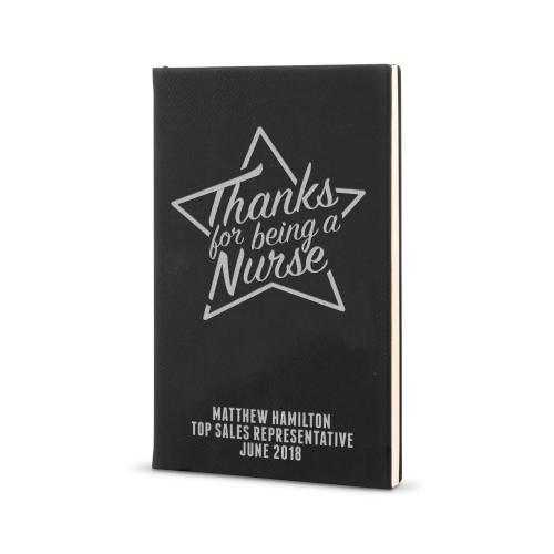 Thanks Nurse Star - Vegan Leather Journal