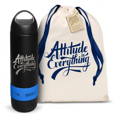 Attitude is Everything Bluetooth Speaker Bottle