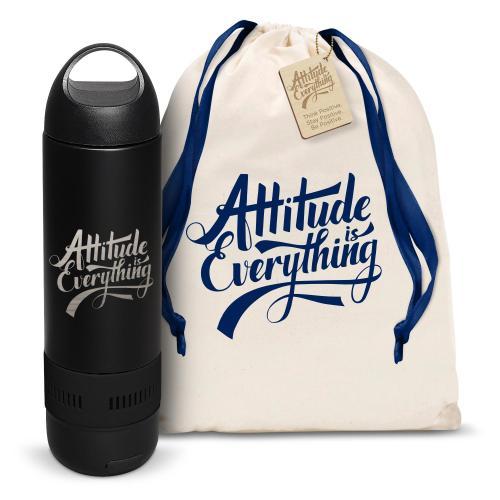 Attitude is Everything Bluetooth Speaker Bottle