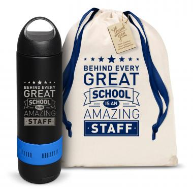 Behind Every Great School Bluetooth Speaker Bottle