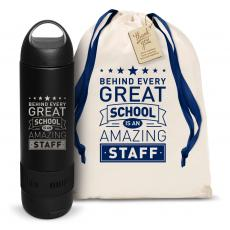 Water Bottles - Behind Every Great School Bluetooth Speaker Bottle