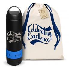 Vacuum Insulated - Celebrating Excellence Bluetooth Speaker Bottle