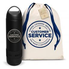 Water Bottles - Customer Service Bluetooth Speaker Bottle