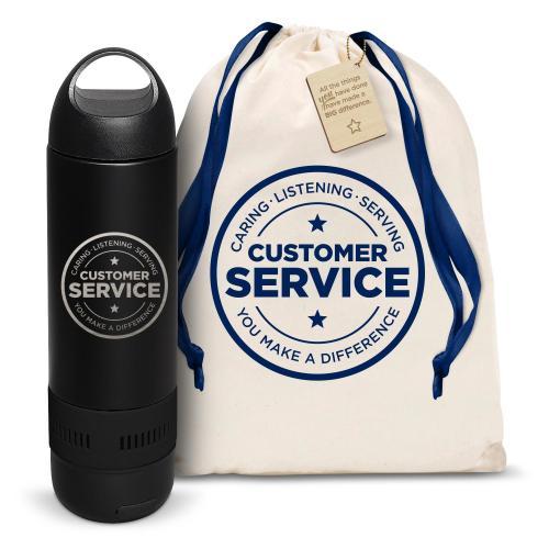 Customer Service Bluetooth Speaker Bottle