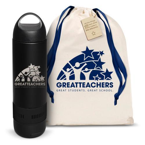 Great Teachers Bluetooth Speaker Bottle