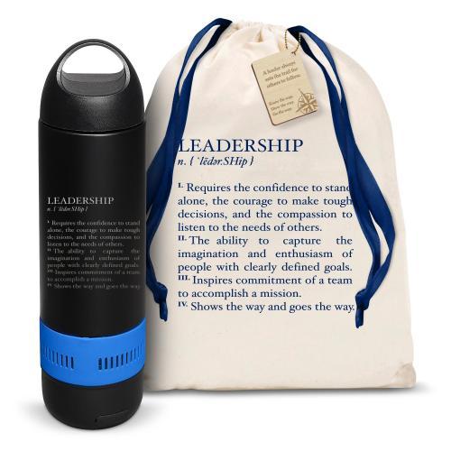 Leadership Definition Bluetooth Speaker Bottle