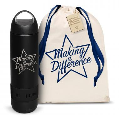 Making a Difference Star Bluetooth Speaker Bottle