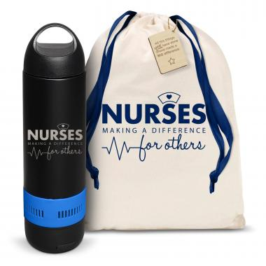 Nurses Making a Difference Bluetooth Speaker Bottle