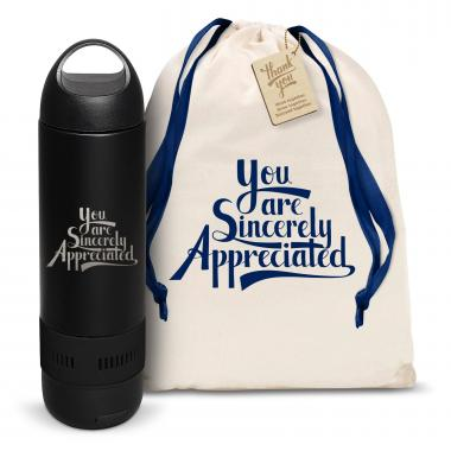 Sincerely Appreciated Bluetooth Speaker Bottle