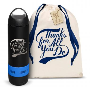 Thanks for All You Do Bluetooth Speaker Bottle
