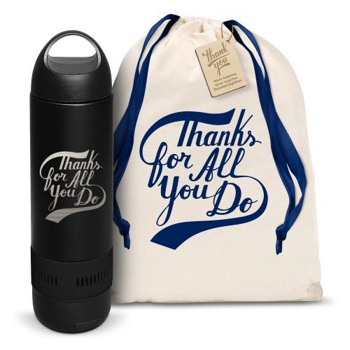 Thanks for All You Do Bluetooth Speaker Bottle