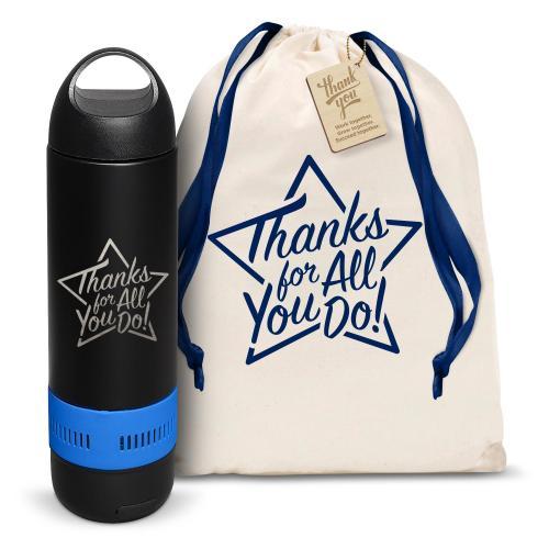 Thanks for All You Do Star Bluetooth Speaker Bottle