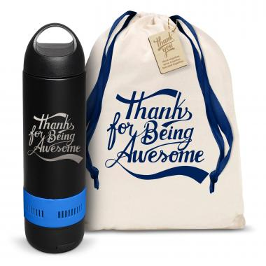 Thanks for Being Awesome Bluetooth Speaker Bottle