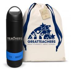Water Bottles - Teachers Building Futures Bluetooth Speaker Bottle