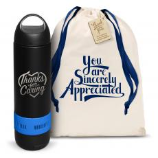 Thank You Gifts - Thanks for Caring Bluetooth Speaker Bottle